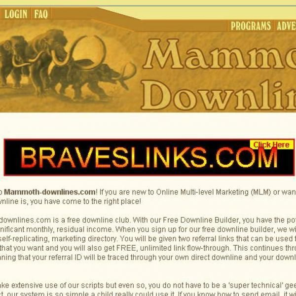 Mammoth Downlines
